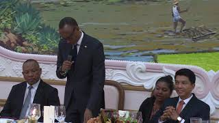 59th Anniversary of Madagascar's Independence | State Banquet | Toast by President Kagame