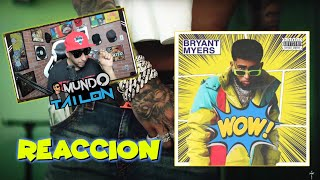 (REACCION) Bryant Myers - WOW (Official Video) 🔥🦾