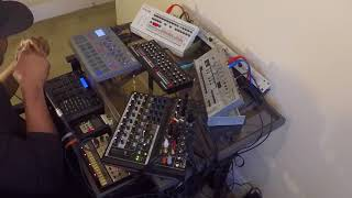 """UR release 1991 """"When a Thought Becomes You"""" revisited live techno"""