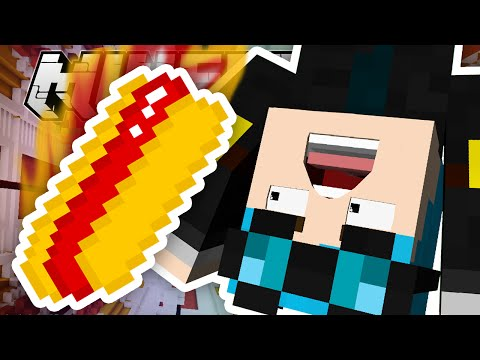 Minecraft | FALLING PAST A GIANT HOT DOG!!