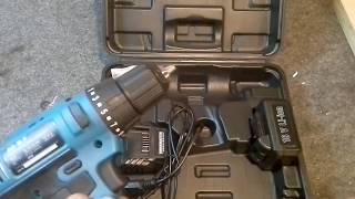 Шуруповерт  WorkMaster 18 вольт..Небольшой обзор.