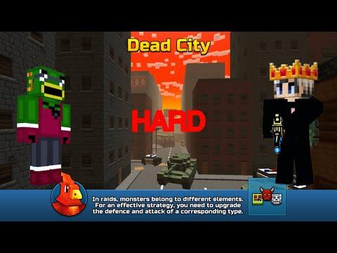 Pixel Gun 3D(HD Gameplay)  Raids   MLGFrogLOLOL Plays With Zay(Alucard Back)!!!