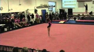 Jaylene Everett Level 8 2011 Dalmatian Classic Spirit Gymnastics