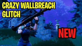 """Fortnite: How To """"WALLBREACH"""" Through Anything Glitch! - Fortnite NEW Wallbreach Glitch! 1.69"""