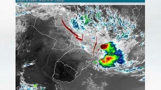 Litoral de SC e do PR permanecem em alerta para mais chuva