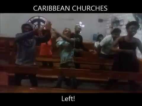 WHITE vs BLACK vs CARIBBEAN CHURCHES