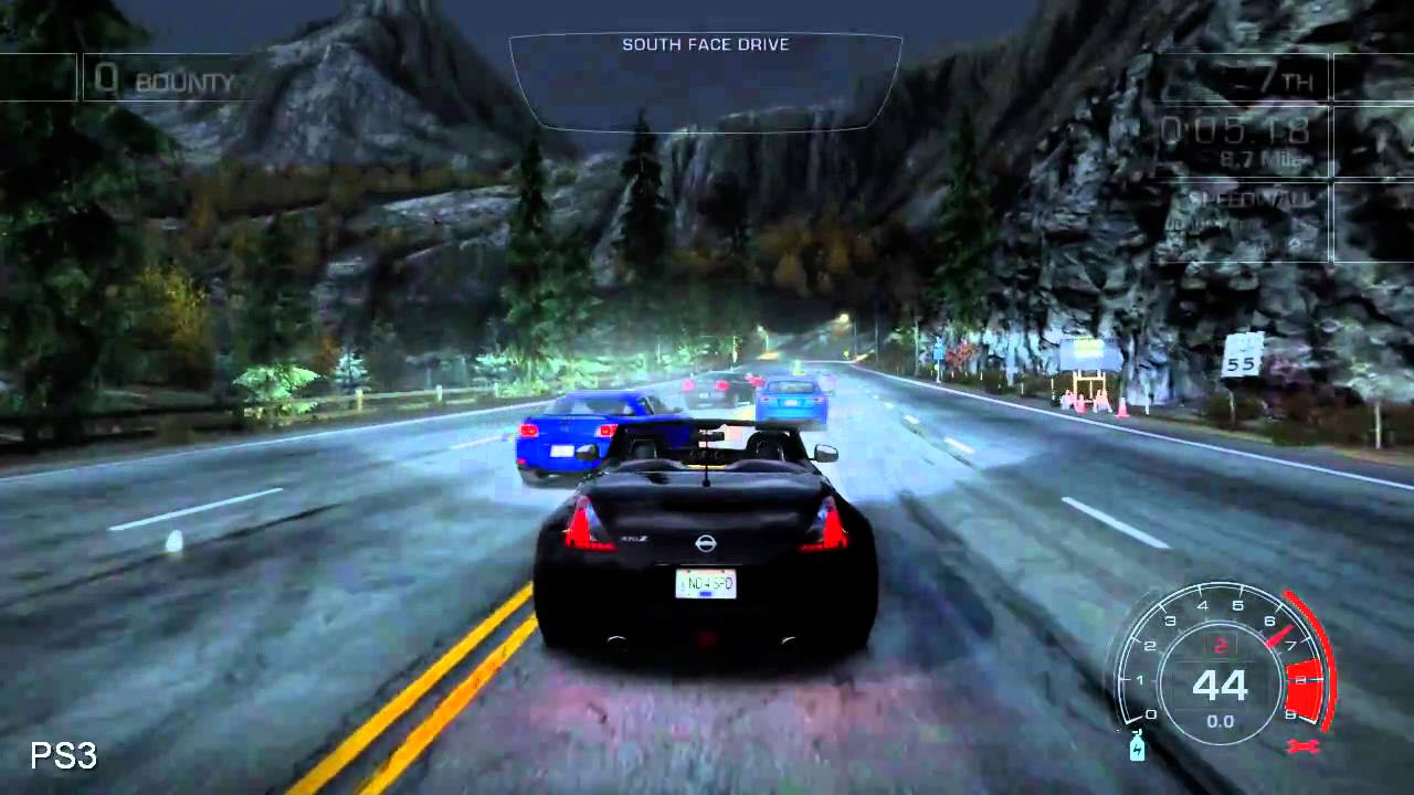 Need For Speed Hot Pursuit Xbox 360 Vs Ps3 Vs Ps3 Youtube