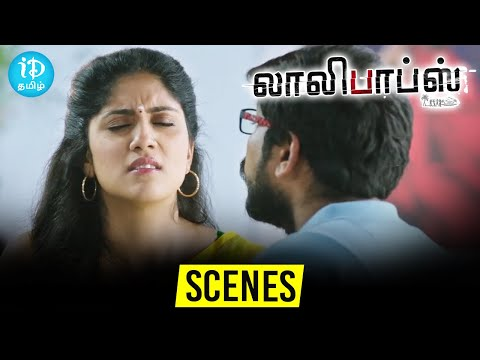 Lollipops Tamil Movie Scenes | Dhanya Balakrishna Love Scene | Komali | Tridha Choudhury