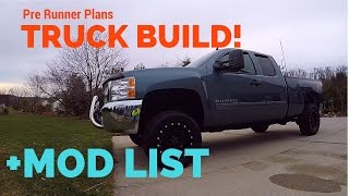 PRE-RUNNER Truck build + Mod List! 2013 Silverado Z71...