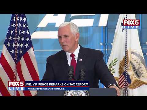 FOX 5 LIVE (10/24): Capitol Hill stakeout cameras; VP Pence on tax reform; newsroom personalities
