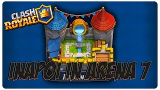Inapoi in arena 7 | Clash Royale Romania