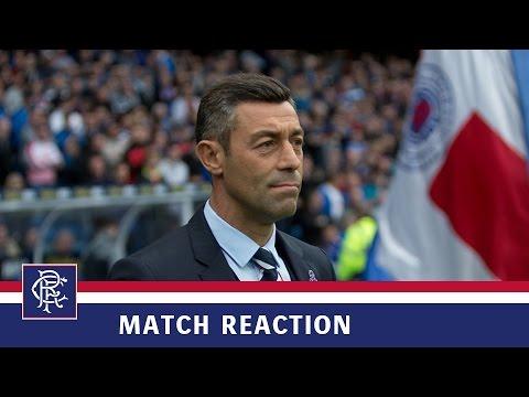 REACTION | Pedro Caixinha | Rangers 1-2 Aberdeen