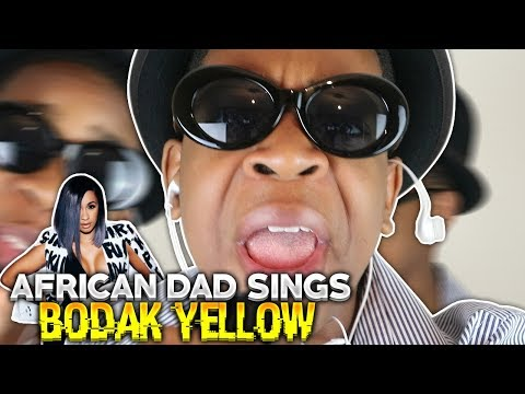 "AFRICAN DAD COVERS ""Cardi B - Bodak Yellow"""