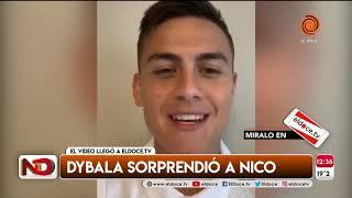 Un nene con dificultades motrices se emocionó al recibir un video de su ídolo Paulo Dybala