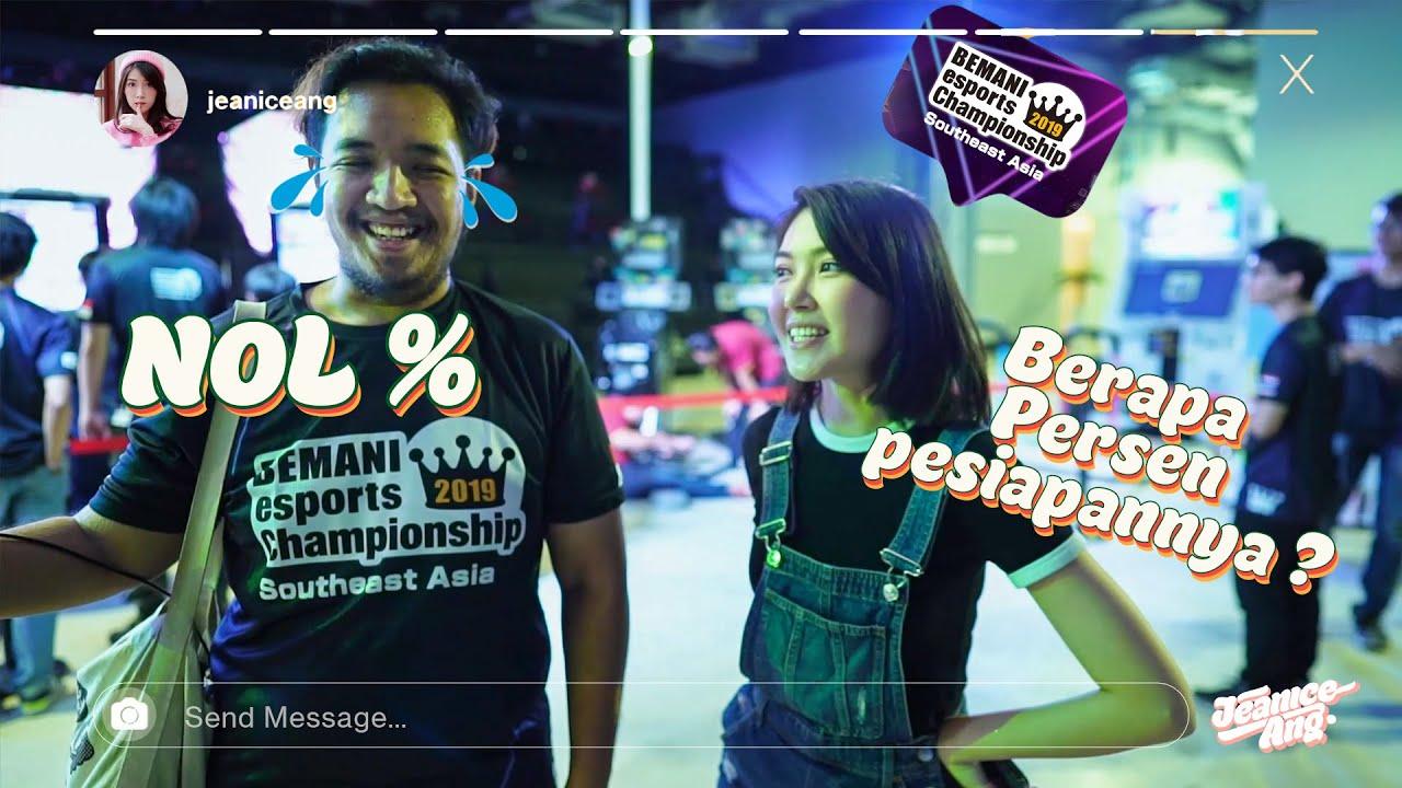 PERWAKILAN INDONESIA SANTUY-SANTUY ABIS !! - BEMANI ESPORTS CHAMPIONSHIP INDONESIA VLOG PART 1
