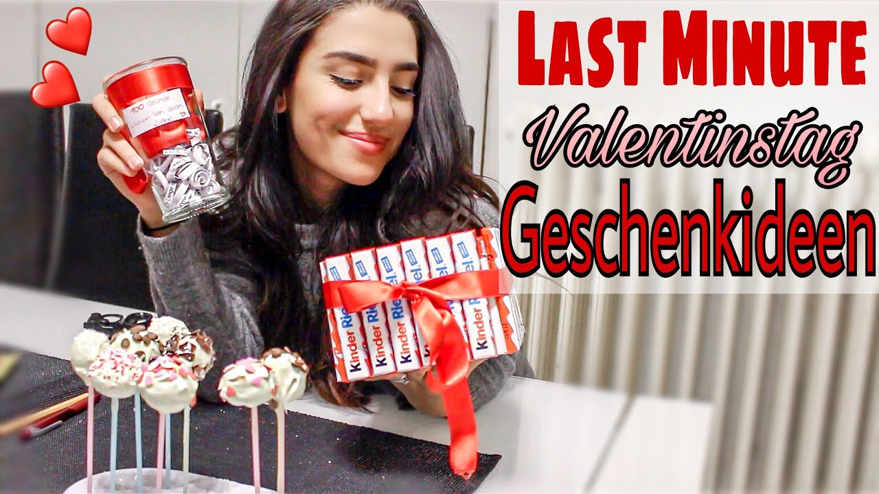 last minute valentinstag geschenkideen youtube. Black Bedroom Furniture Sets. Home Design Ideas
