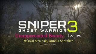 Sniper Ghost Warrior 3 Song Lyrics Unappreciated Beauty Mikolai Stroinski Aurelia Shrenker