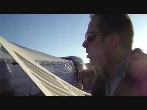 FTL Solar Fabric Panel,Shot Show 2012, Nevada Desert Media day