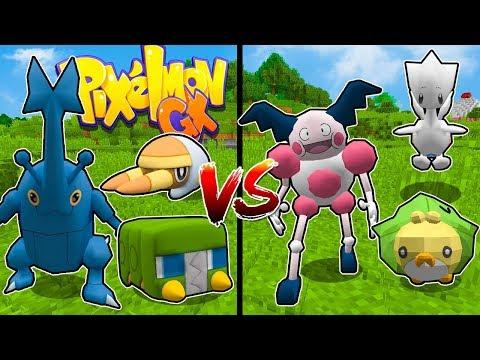 Minecraft ITA - Stef VS Phere - Pokemon più BUFFO!