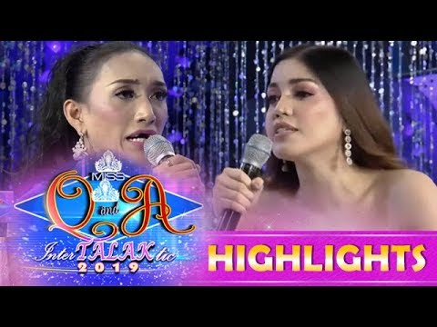 It's Showtime Miss Q & A:  Jasmine Sangel Montemayor vs. Anne Patricia Lorenzo | Resbek Day 1