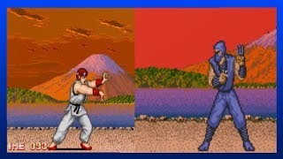 GEKI STAGE - All Versions | Street Fighter