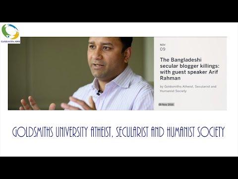 Bangladeshi bloggers and history - @Goldsmiths AHS