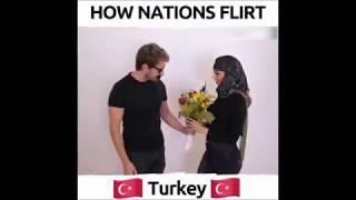 HOW NATIONS FLIRT XD