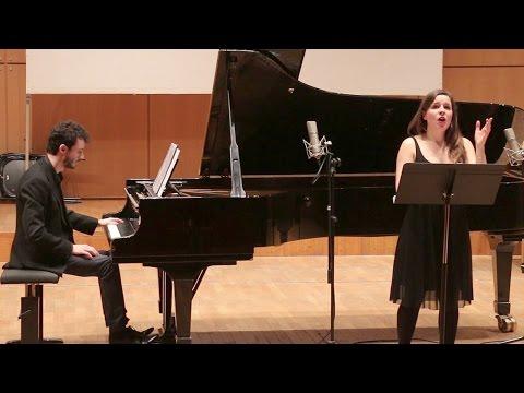 "DE FALLA - ""Seguidille"", mélodie pour chant et piano - Clara LELOUP, soprano"