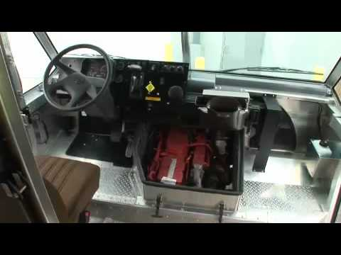 Ups diesel hev delivery truck youtube