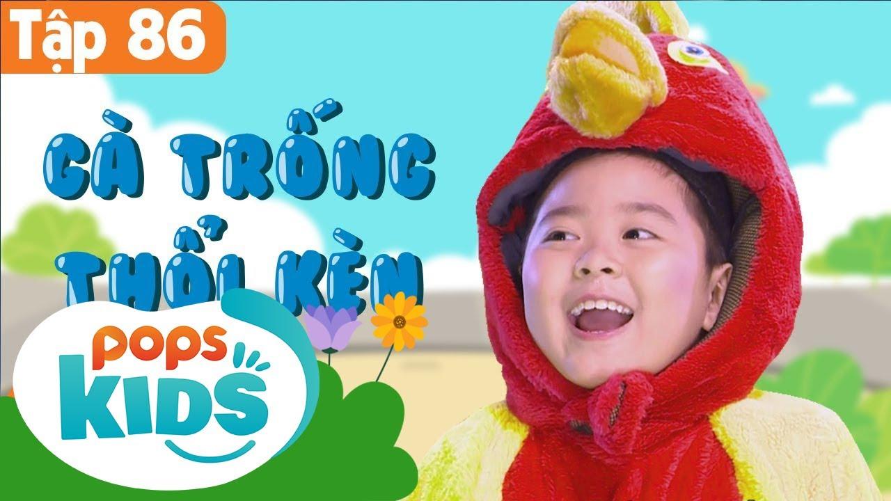 Mầm Chồi Lá Tập 86 - Gà Trống Thổi Kèn | Nhạc thiếu nhi remix sôi động | Vietnamese Kids Songs
