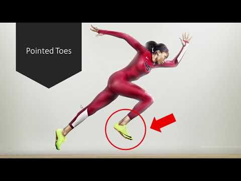 Why do Sprinters Point their Toes Up While Running?   Explanation of the Stretch Reflex
