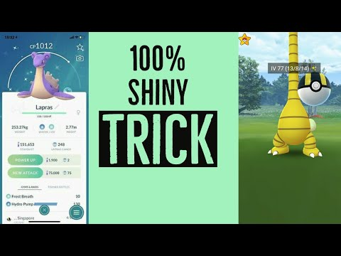 How To Catch 100% Shiny Pokemons In Pokemon Go | Coordinate In Description
