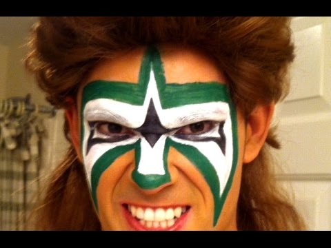The ultimate warrior face paint