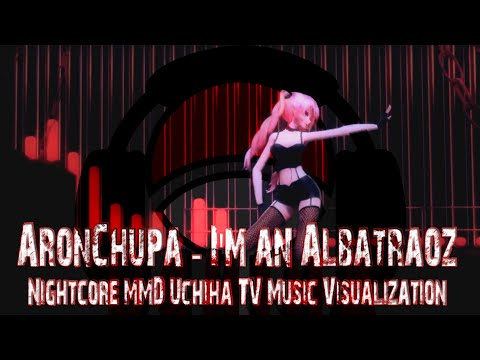 AronChupa - I'm An Albatraoz [ Nightcore MMD 2020 ] | Uchiha TV Music Visualization