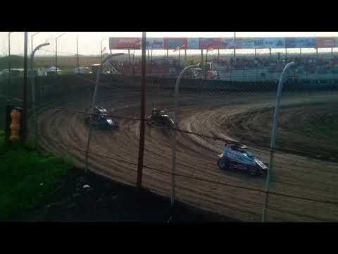 POWRi Midgets Hot Laps Macon Speedway