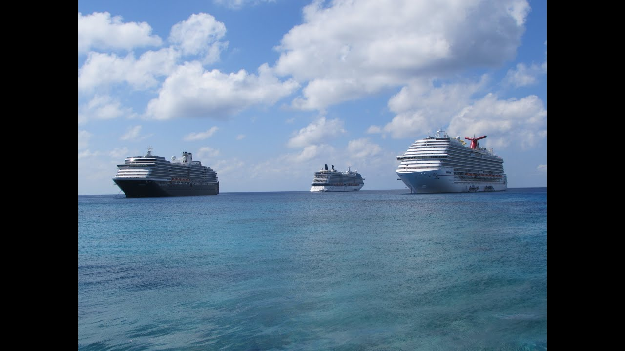 Grand Cayman Cruise Port Video YouTube - Cruise ship schedule for grand cayman