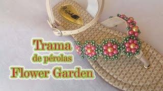 Trama de pérolas Flower Garden