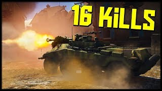 16 Kills & 10k Score || All in a Days Work || War Thunder Tank Gameplay