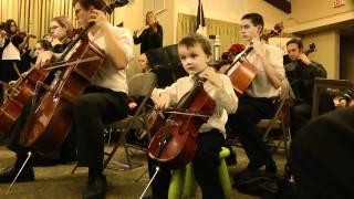 Minuet 2 - Suzuki string ensemble (J.S. Bach)