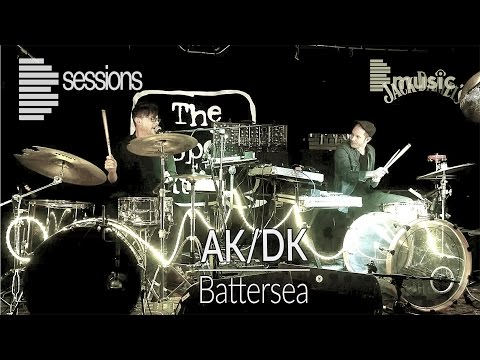 AK/DK - 'Battersea' experimental electro rock duo Live performance (Bsession)