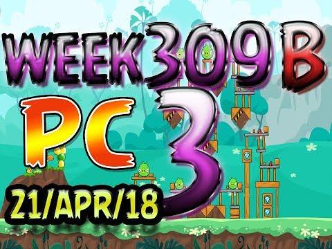 Angry Birds Friends Tournament Level 3 Week 309-B PC Highscore POWER-UP walkthrough