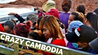 HUMAN TRAFFICKING at the CAMBODIA BORDER
