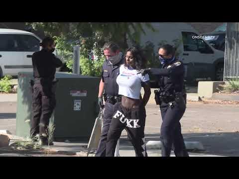 San Diego: Police Standoff Ends in Arrest 09182020