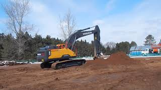 Video still for Nuss Volvo Excavators at New Iron Expo