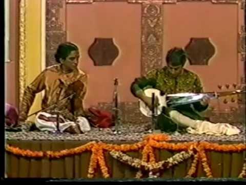 Lalgudi G. Jayaraman and Amjadh Ali Khan in Jugalbandhi