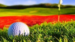МЯЧИК ШАЛУН ЧУТЬ НЕ УЛЕТЕЛ ЗА ПРЕДЕЛ! (Golf With Your Friends)