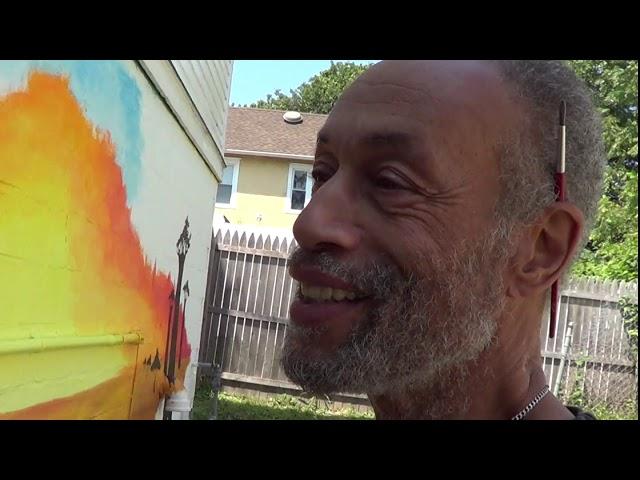Just a Little: Charles Trott - Muralist