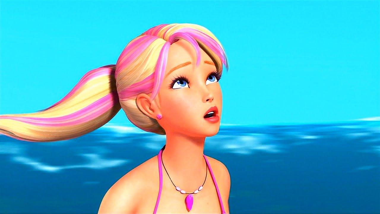 Download Barbie in A Mermaid Tale - Merliah's pink hair reveal her true Nature