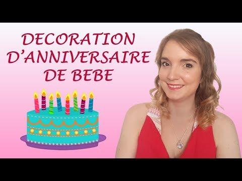 Décoration d'anniversaire de bébé: Sophie a un an!