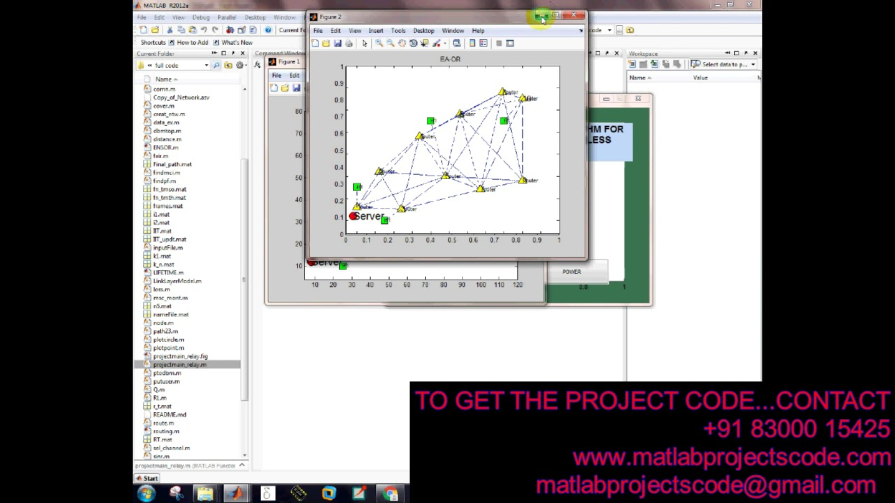 Matlab code for Opportunistic Routing Algorithm for Relay Node selection in  WSN